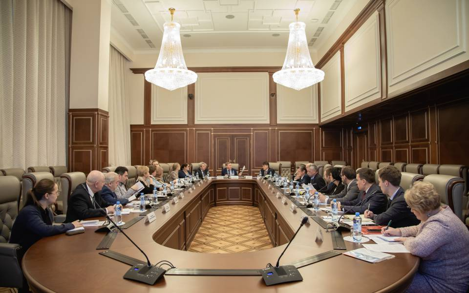 Meeting of the Coordinating Committee of UNESCO Chairs on Education at the Ministry of Foreign Affairs of Russia
