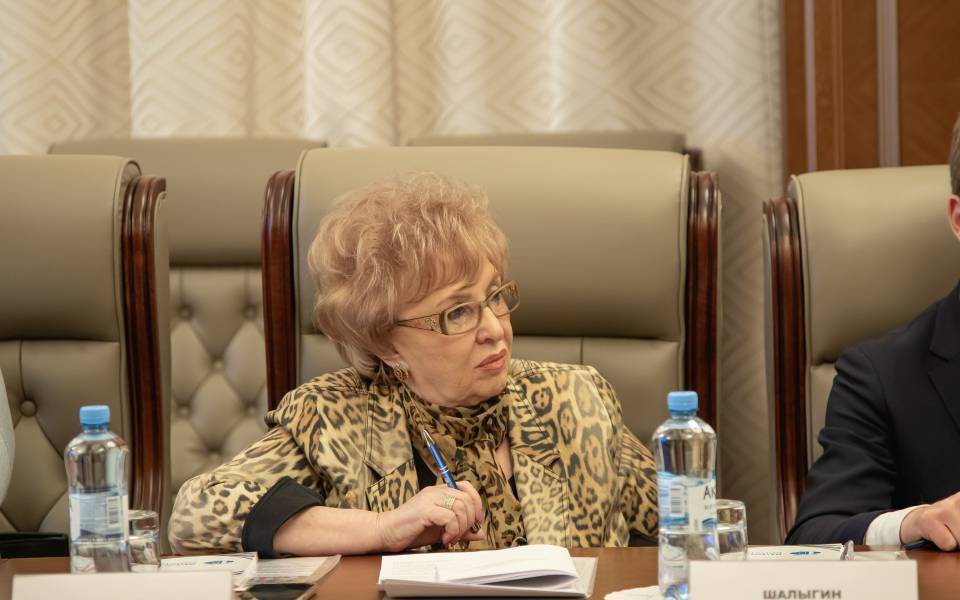 """Nella Pruss, the Rector of the University of Management """"TISBI"""", took part in the work of Committee"""