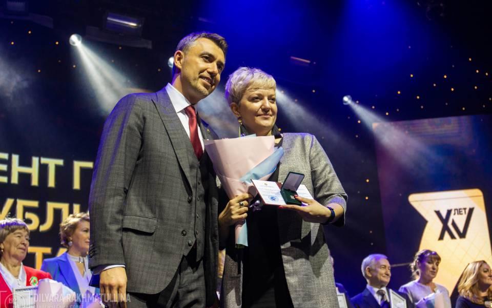 Award of Evgeniya Prokhorova for her contribution to youth policy development