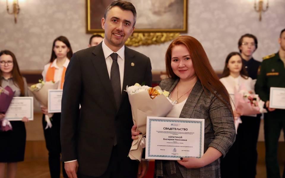 Студентка Университета управления «ТИСБИ»— обладательница специальной государственной стипендииРТ