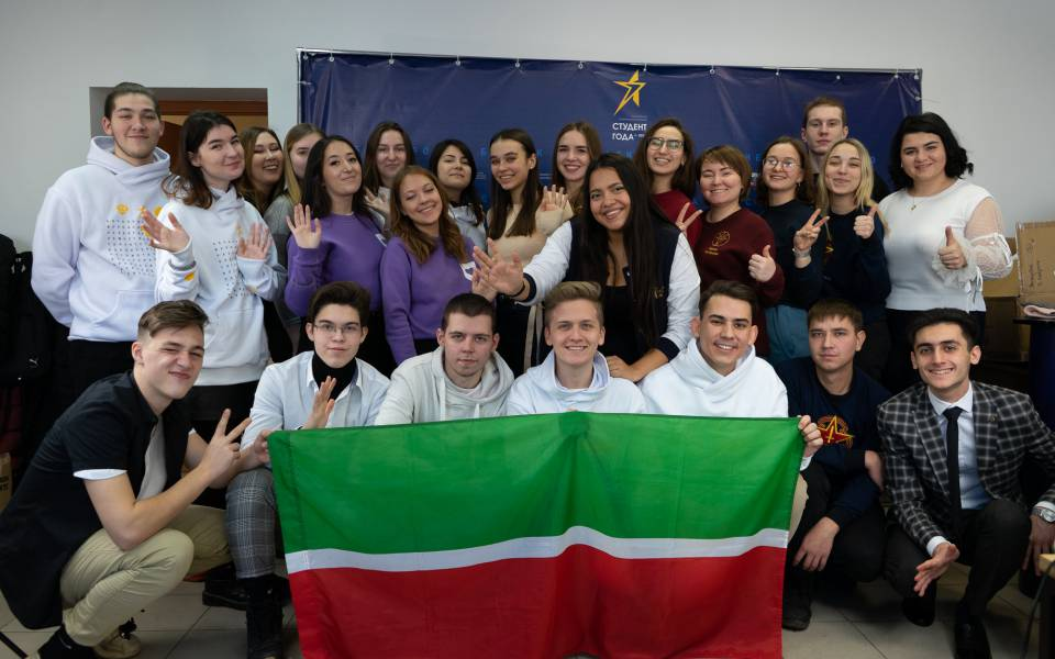 Delegation at the competition